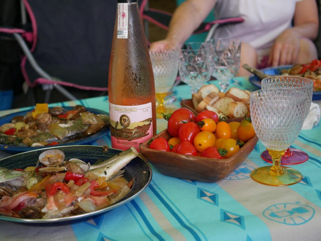 アウトドア スペイン料理