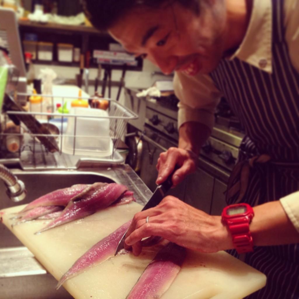 さんま  秋刀魚 サンマ 仕込み