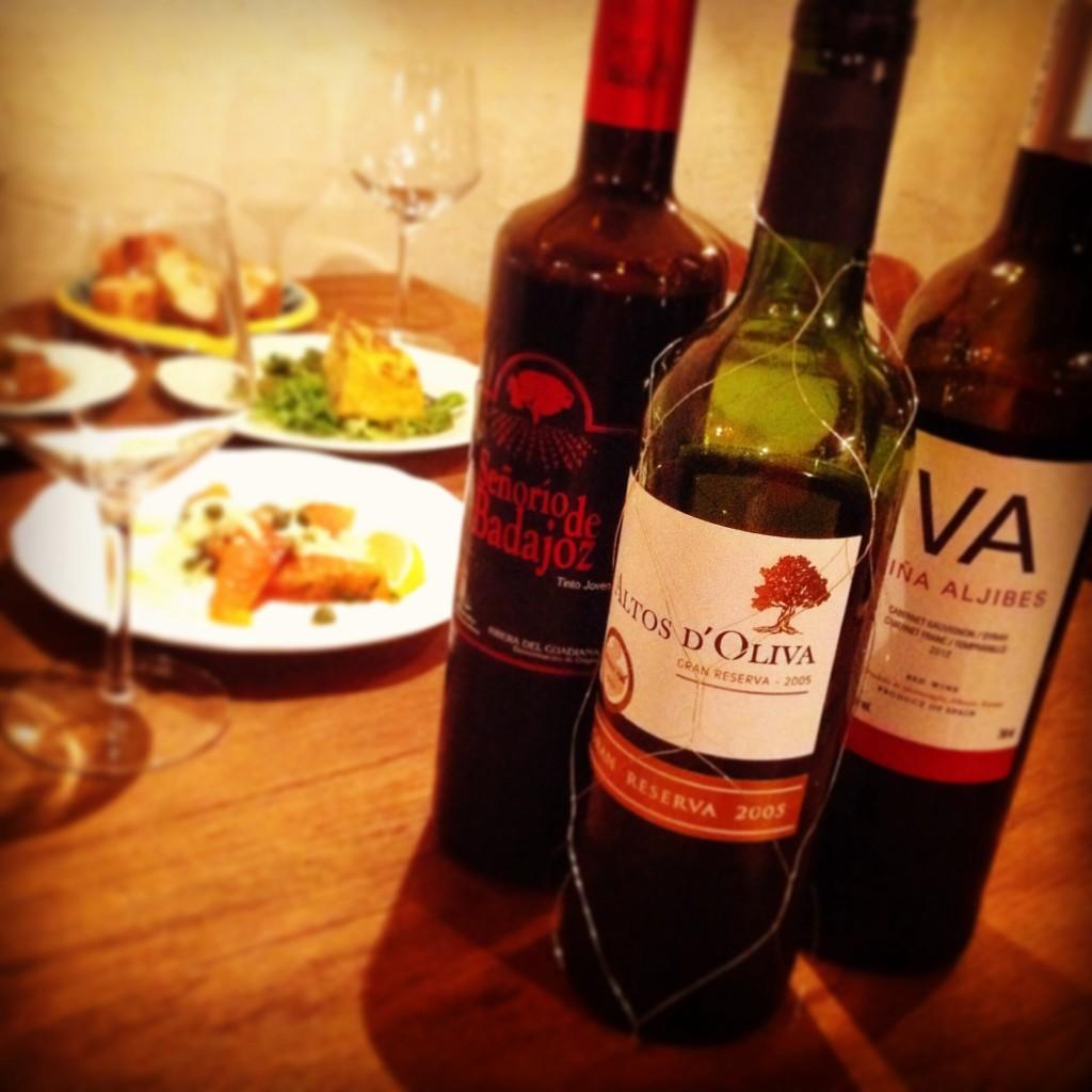 スペイン ワイン 試飲