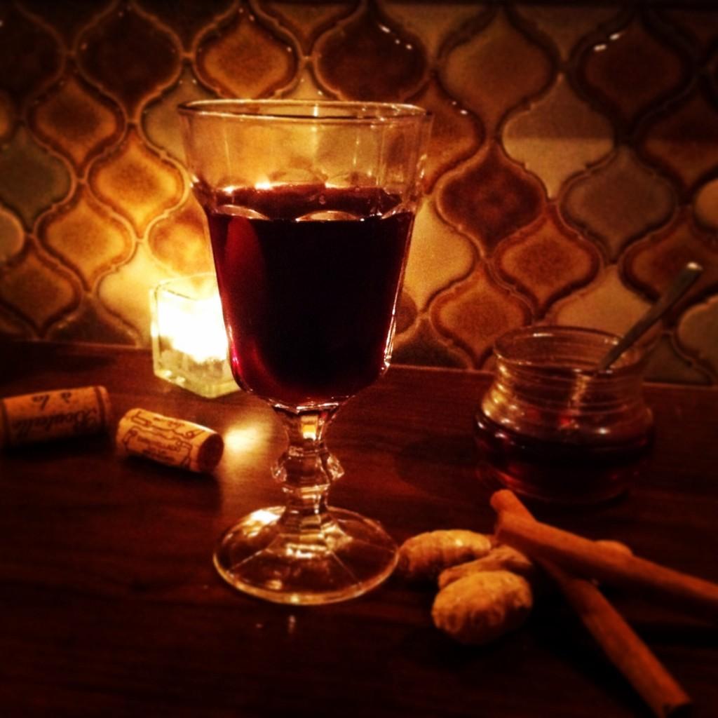 ホットワイン 冬季限定