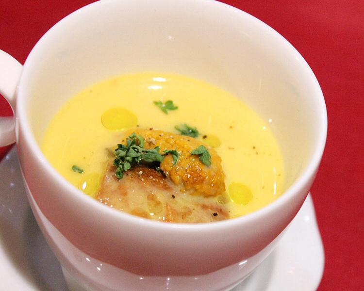 雲丹のスープ ウニ