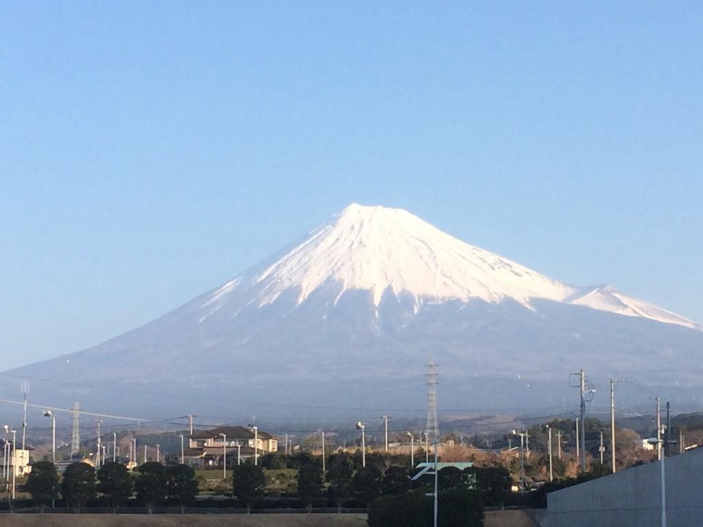 大晦日 富士山