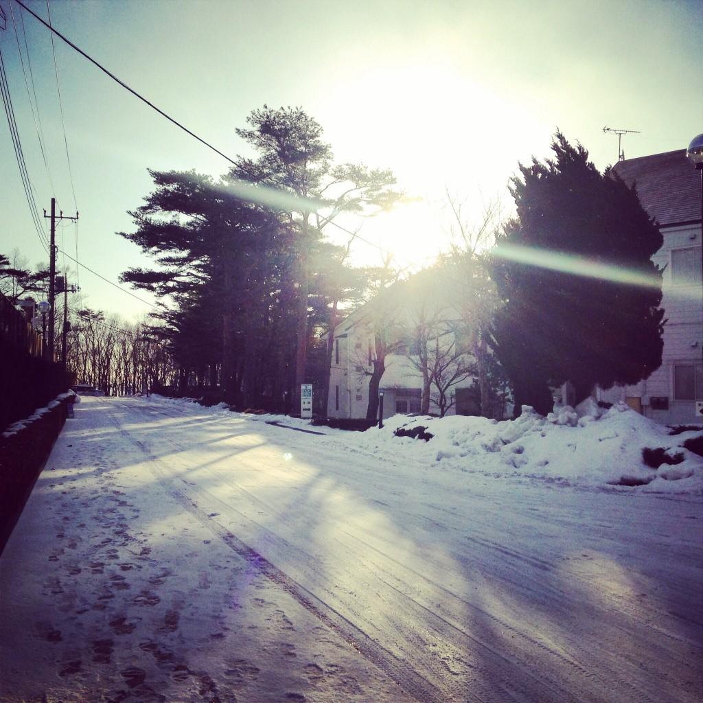 那須 雪景色