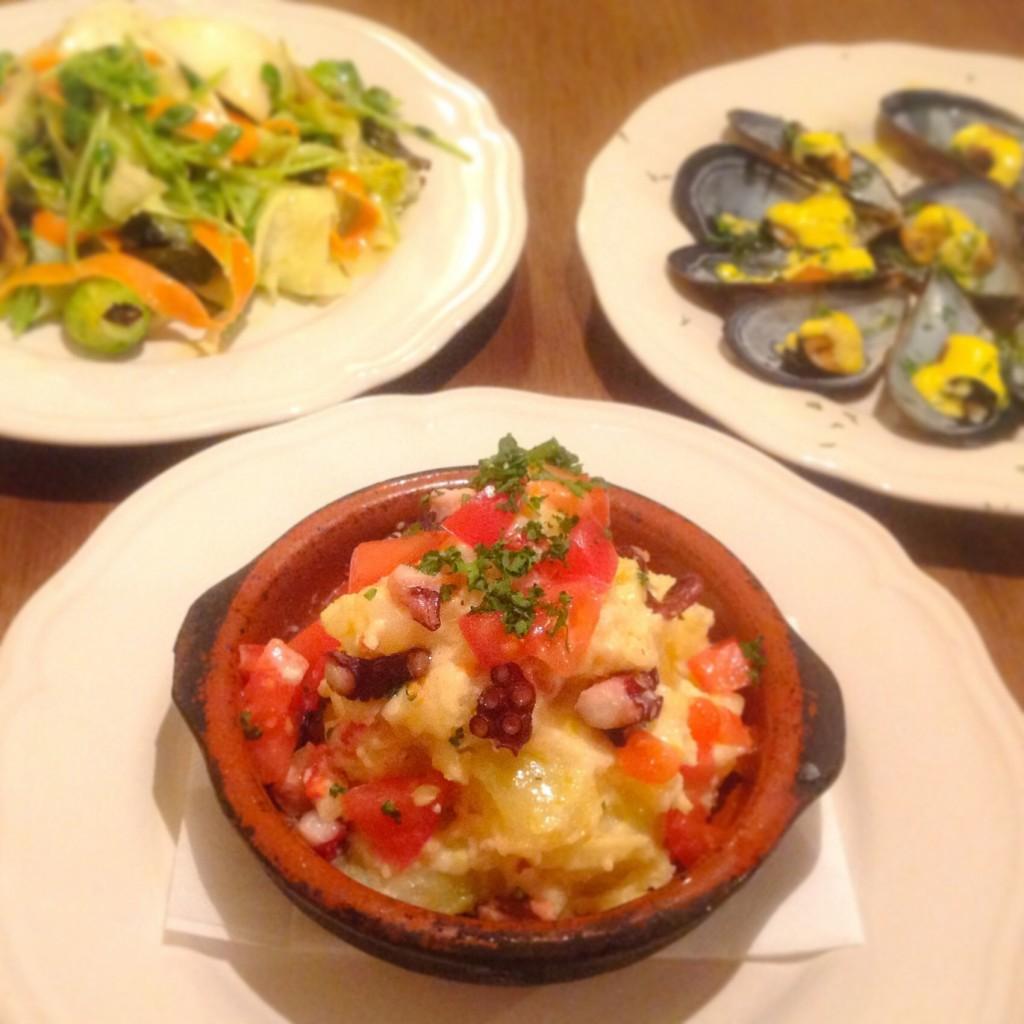 まかない スペイン料理 anocado