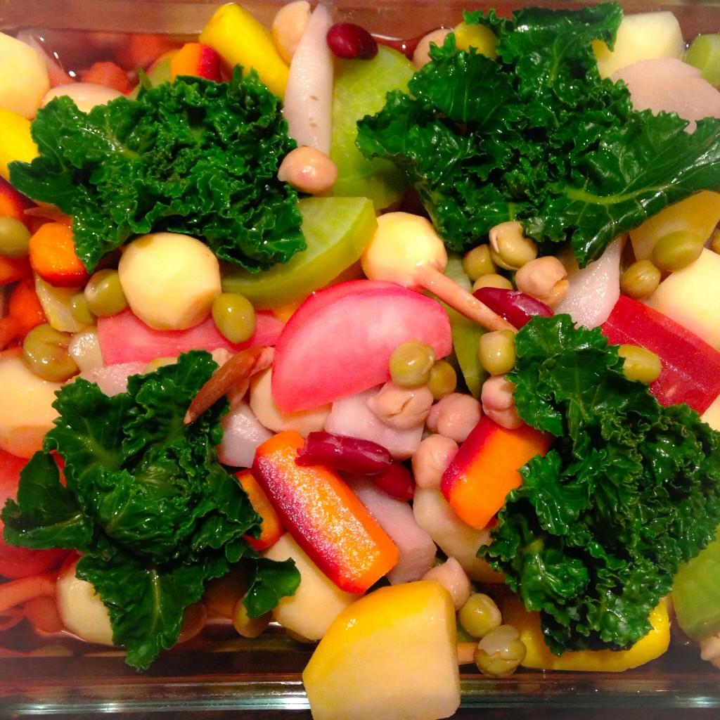 anocado冬のオススメ 根菜のピクルス