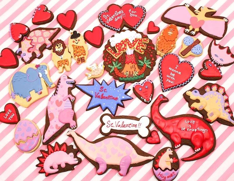 ステカ&モジョル バレンタイン アイシングクッキー