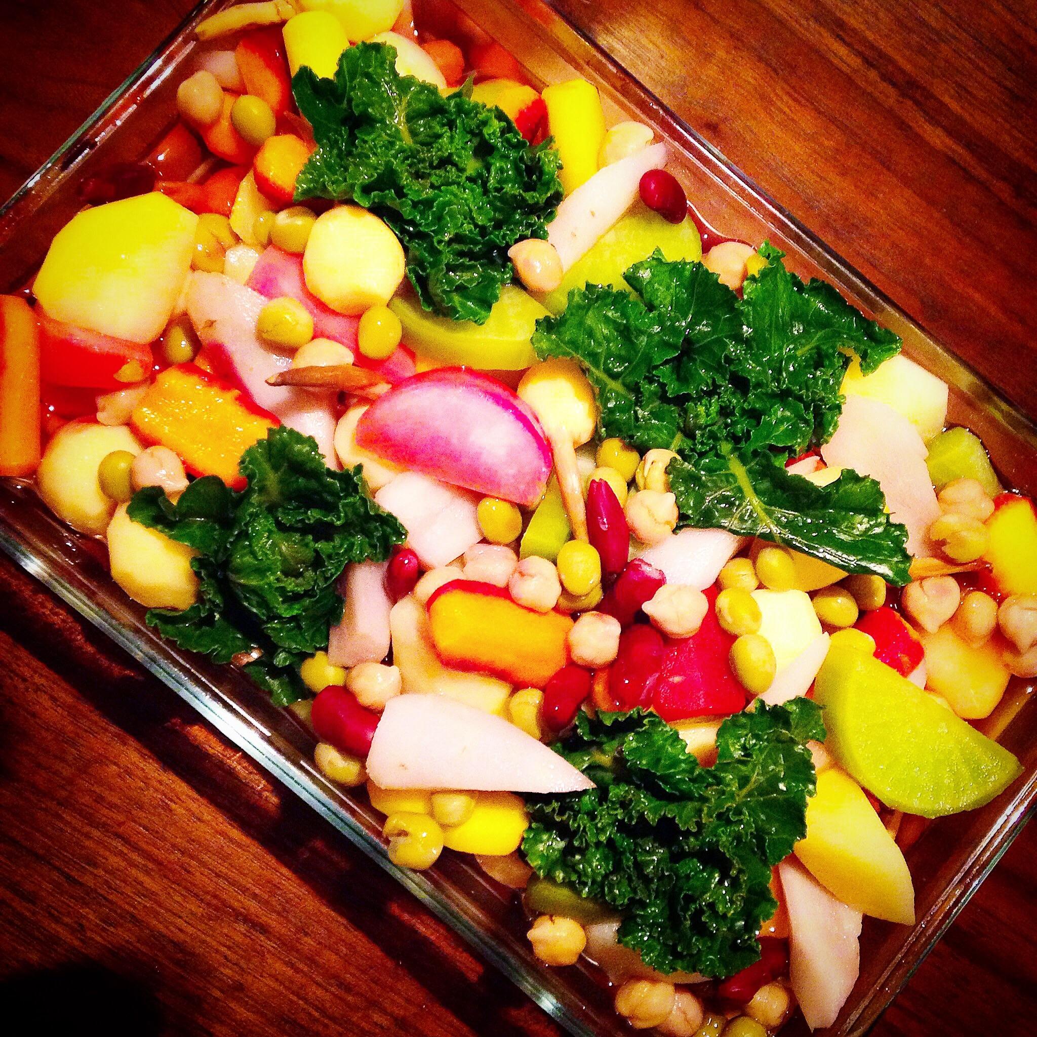 冬の根菜のピクルス