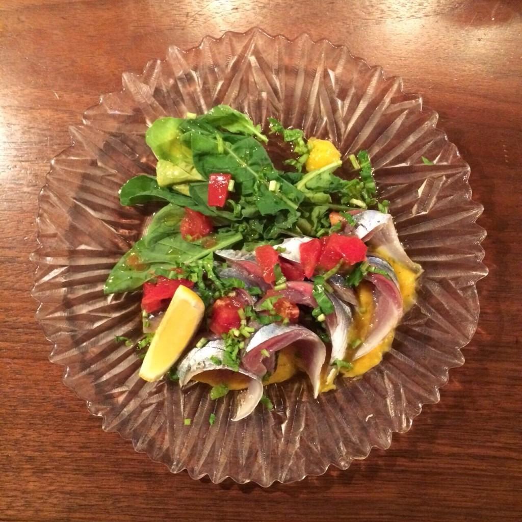 秋刀魚の酢漬け